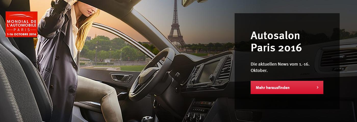 autosalon paris 2016 seat henke automobile ihr. Black Bedroom Furniture Sets. Home Design Ideas