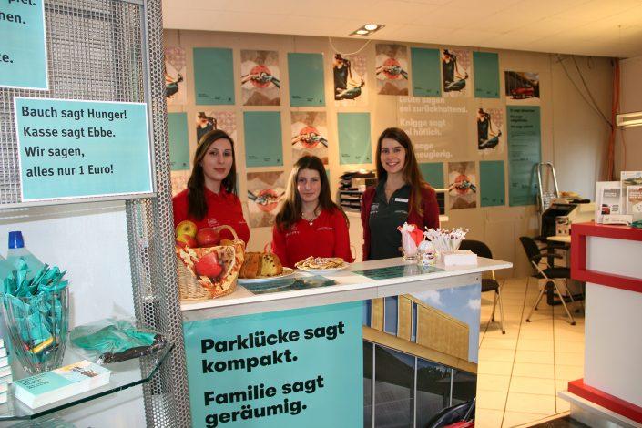Aktuelles - Rückblick Premiere Arona - Kuchen Service