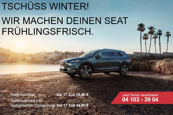 Seat Wedel Henke Neuwagen Gebrauchtwagen Tarraco Reifenwechsel